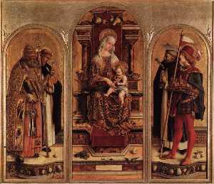 Triptych of Camerino