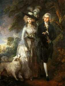 Mr and Mrs William Hallett ('The Morning Walk')