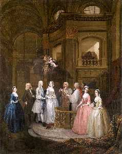 The Marriage of Stephen Beckingham and Mary Cox
