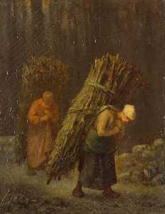Peasant-Girls with Brushwood