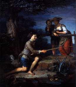 Angler (detail)