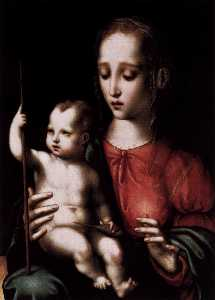 Virgin and Child with a Spindle