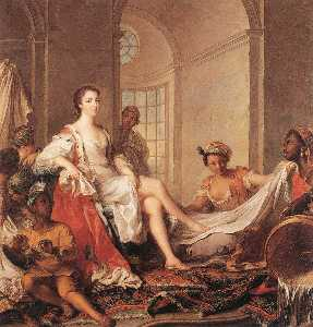 'Mademoiselle de Clermont ''en Sultane'''
