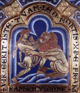Samson and the Lion