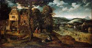 WikiOO.org - Encyclopedia of Fine Arts - Kunstenaar, schilder Joachim Patenier