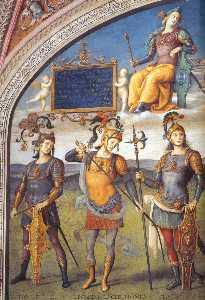 Famous Men of Antiquity (detail) (9)