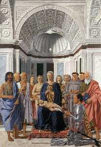 Madonna and Child with Saints (Montefeltro Altarpiece)