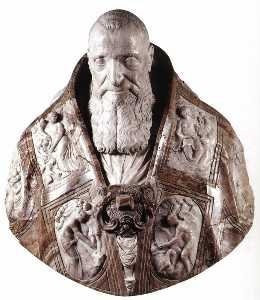 Bust of Pope Paul III