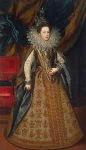 Portrait of Margaret of Savoy, Duchess of Mantua