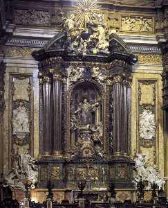 Altar of St Ignatius Loyola