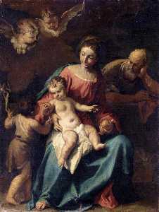 Holy Family with the Infant St John the Baptist