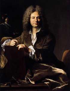 Portrait of Pierre Drevet