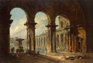 Ancient Ruins Used as Public Baths