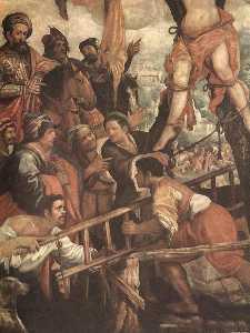 il martirio di san Andrea