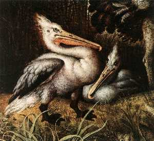 Landscape with Birds (detail)