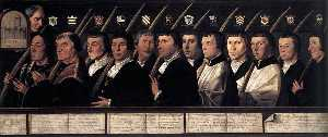 12 Members of the Haarlem Brotherhood of Jerusalem Pilgrims