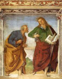 The Apostles Peter and John the Evangelist