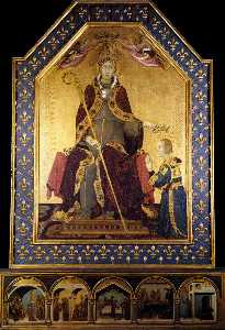 Altar of St Louis of Toulouse