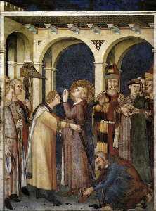 Cattedrale di St Balestruccio  è  Cavaliere  scena  3