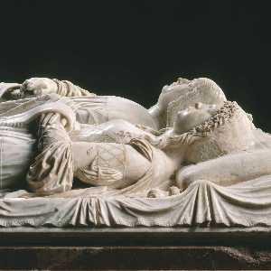Effigies of Lodovico Sforza and Beatrice d'Este (detail)