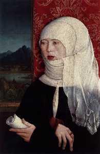 Portrait of Martha Thannstetter (née Werusin)