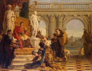 Maecenas Presenting the Liberal Arts to Emperor Augustus