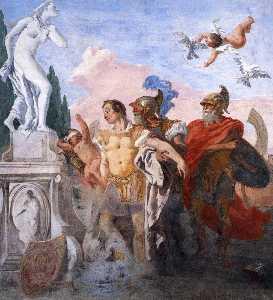 Rinaldo Leaving the Garden of Armida