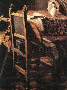 A Lady Drinking and a Gentleman (detail) (9)