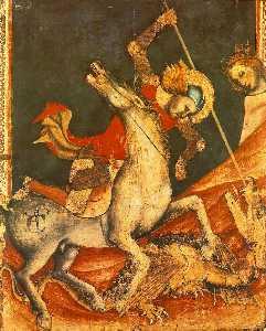 st george 's Battaglia con il drago