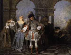 Actors from the Comédie Française