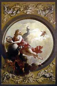 Flora with Putti Strewing Flowers