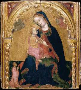 Wikioo.org - The Encyclopedia of Fine Arts - Artist, Painter  Zanino Di Pietro