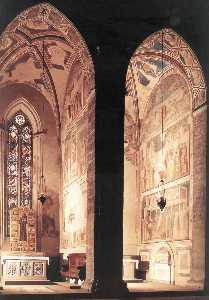 Vista di peruzzi e bardi Cappelle ( da sinistra )