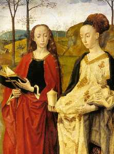 Sts Margaret and Mary Magdalene with Maria Portinari (detail) (11)