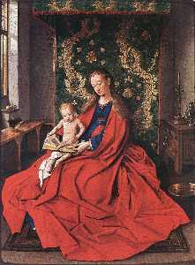 Madonna with the Child Reading