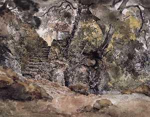 From the Park of the Villa Chigi in Ariccia