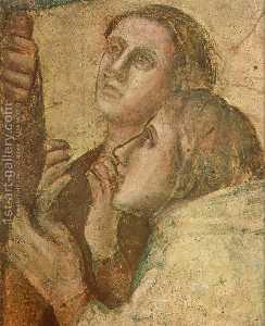 Scene da vita di san giovanni evangelista : 2 . raccolta di drusiana ( particolare ) ( 11 )