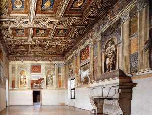 View of the Salone dei Cavalli