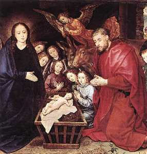 Adoration of the Shepherds (detail) (13)