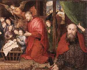 Adoration of the Shepherds (detail) (15)