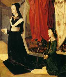 Sts Margaret and Mary Magdalene with Maria Portinari (detail) (16)