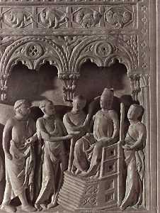 llegada de el  Embajadores  de  Roma
