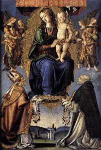Wikioo.org - The Encyclopedia of Fine Arts - Artist, Painter  Bernardino Di Mariotto Dello Stagno