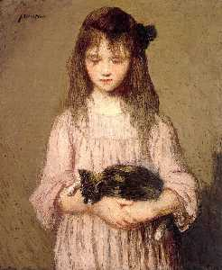 Little Lizie Lynch (also known as Portrait of a Young Girl)