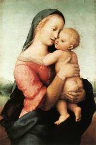 мадонна с младенцем ( темпи мадонна )