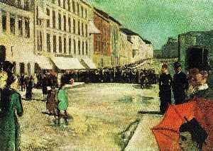 The Military Band on Karl Johan Street