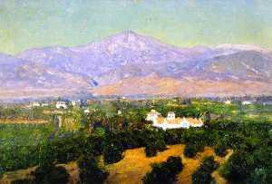 Mount San Bernardino, from Smiley's Heights, Redlands