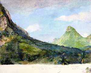 Mount Tohivea, Island of Moorea