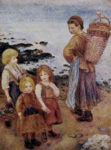 Mussel Fishers at Berneval