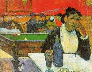 NIght Cafe in Arles (Madame Ginoux)